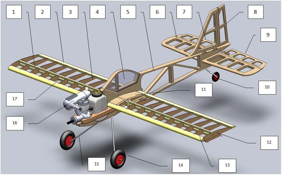 Кордовая модель самолета с электродвигателем своими руками 86