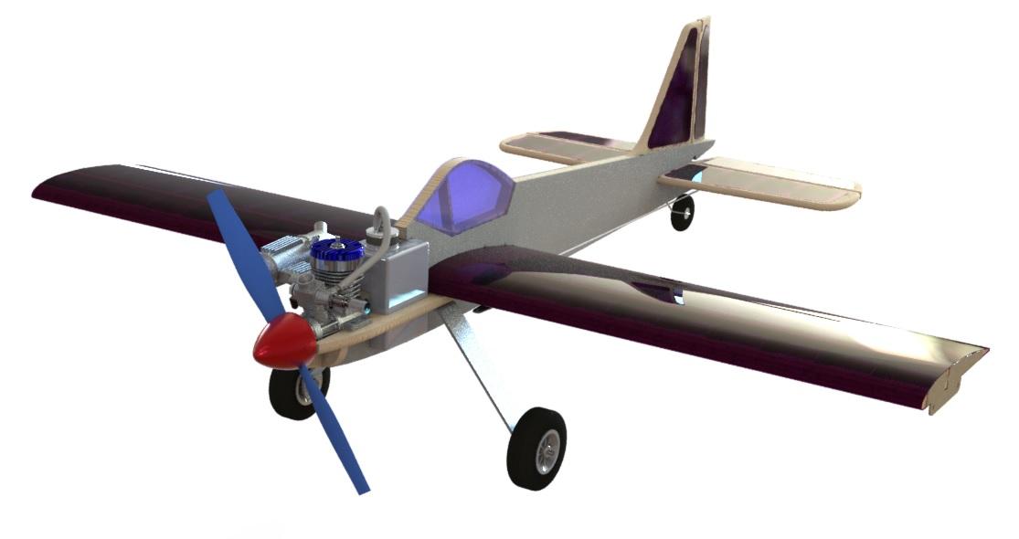 Кордовая учебная модель PML-1001М ЮНИОР