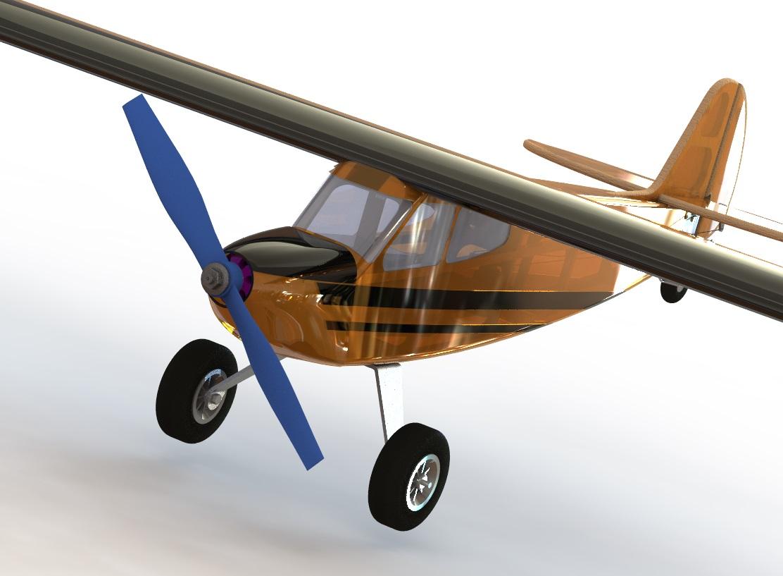 Кордовая тренировочная модель PML-1004R E/D КОЛИБРИ