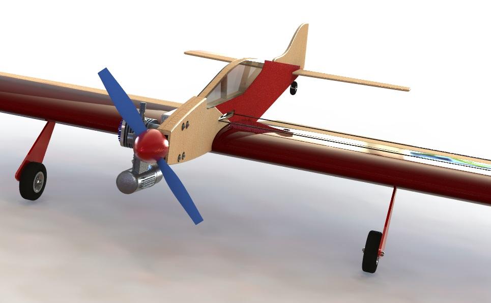 Кордовая пилотажная модель PML-2001 ЯСТРЕБ