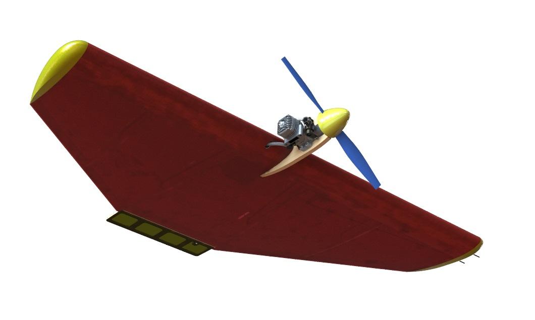 Кордовая бойцовая модель PML-2003 СТРИЖ