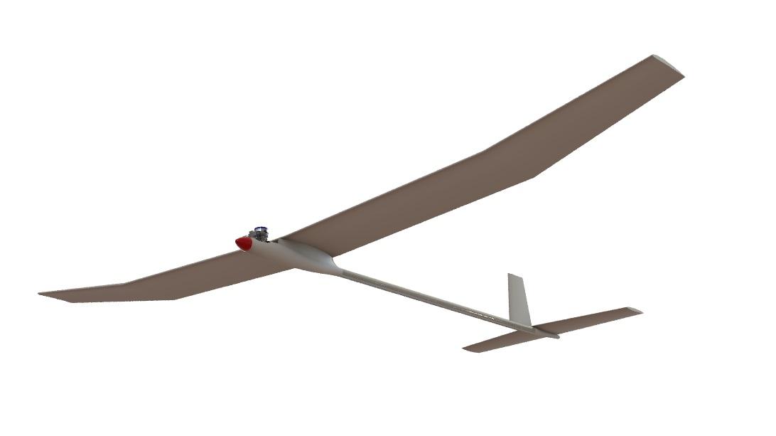 Свободнолетающая модель планера PML-3001 АЛЬБАТРОС